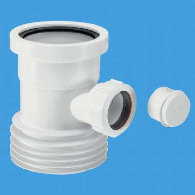 McAlpine 110mm Boss Connector for Pan Connectors WC-BP1